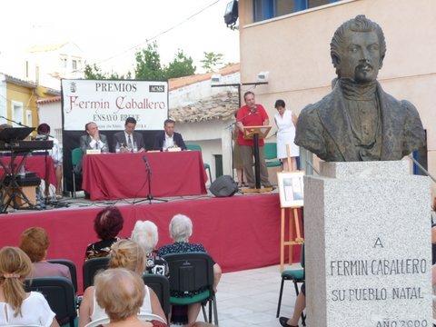 Resultado de imagen de XVI PREMIO FERMIN CABALLERO DE ENSAYO BREVE EN CIENCIAS SOCIALES