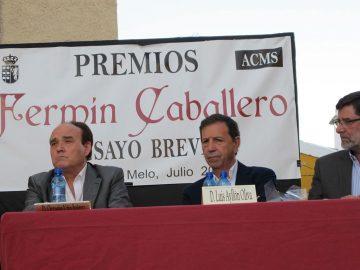 """Entregados los XV Premios """"Fermín Caballero"""", Barajas de Melo 2016"""